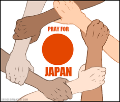 Pray for Japan by sry005