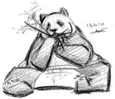 Bear 004 - Panda Bear + 04.10 by LPDisney