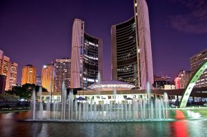 Toronto's City Hall by moe0