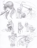More Maka Sketches by Jazzie560