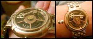 Steam Punk Watch by RavesAngel