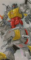 commission grimlock by markerguru