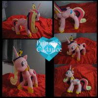 Princess Cadance Plush by shuuichi-kun