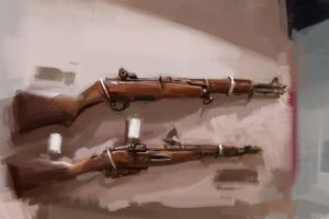 HARDWELL108: Garand and Mosin Nagant by Hamsta180