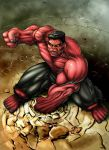Red Hulk (2012) Colours by SteveAndrew