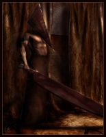 Pyramid Head by ValentinaKallias