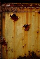 Rusted Yellow Paint by jnicolini12