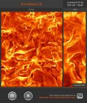 Fire Pattern 2.0 by Sed-rah-Stock