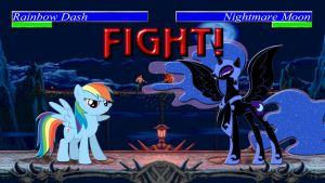 Pony Kombat Tournament Round 1, Battle 5 by Macgrubor