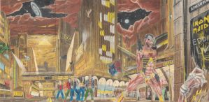 Iron maiden somwhere in time by strator