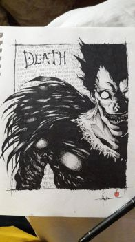 Ryuk by skirniskolops