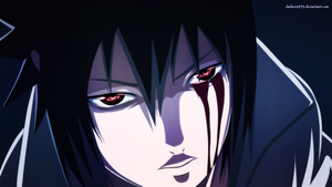 Naruto : Evil Sasuke by DarkNyash