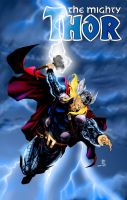 The Mighty Thor revisited by alxelder