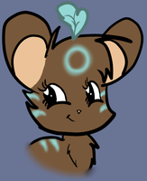 transformice shaman with twiface by Flare-Shine