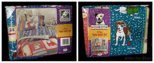 Wishbone Bedding - 3 Piece Twin Sheet Set by The-Toy-Chest