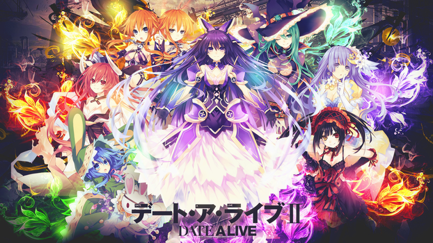 Date A Live II HD Wallpaper by tammypain