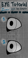 Eye Tutorial by DOLFIY