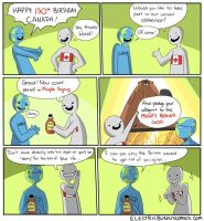 Canada150 by electricbunnycomics