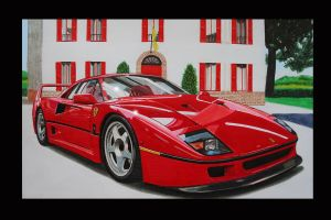 FERRARI F 40 by Stephen59300