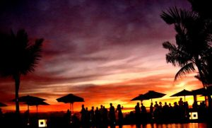 SunSet with people by DeLonge-sex