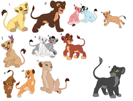 Lion Adoptables OPEN by Cartoonfangirl4