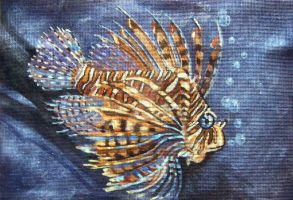 Lion Fish by HouseofChabrier