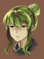 Gumi w/ Ponytail by IDK-kun
