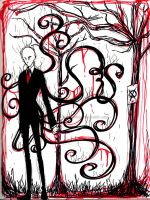 The Slender by xXKikaru-ChanXx