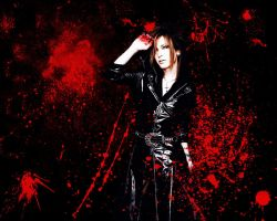 Uruha - Bloodstains - by InTheMiddleOfChaos