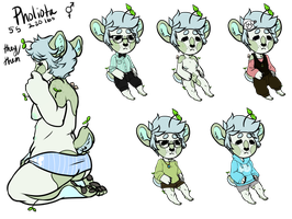 Phil the Sprout Bear by DeerestHammy