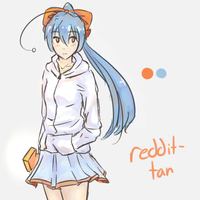 reddit-tan by Kirbeee