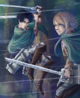 Levi and Petra by taratjah