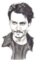 Johnny Depp by Drkmagician83