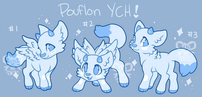 Little Pouf YCH! Open! by Ambunny