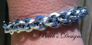 Chainmaille Bracelet by Barbsdesigns
