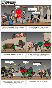 Servants of the Imperium Wrapping up part 3 by evilscary