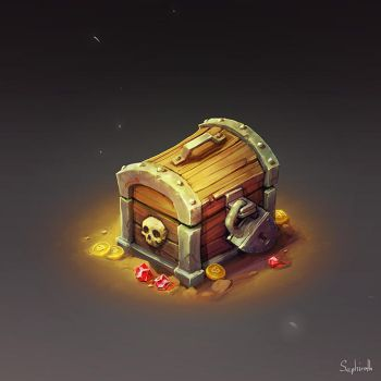Isometric Chest by Sephiroth-Art