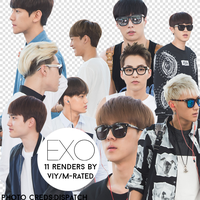 EXO Airport Fashion Renders/PNG from Distaptch by vanillaisyummy