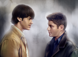 The Winchester Brothers by Puppet-Girl86