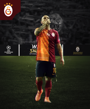 WESLEY SNEIJDER! CHAMPIONS LEAGUE! GALATASARAY! by Msk1905