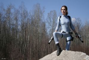 Tomb Raider Legend cosplay: snowsuit by Elen-Mart