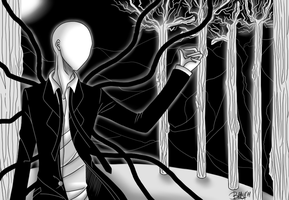 + The Slender Man + by UnseenChaser