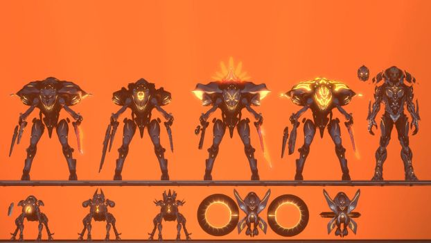 Prometheans of the Didact. by Koldraxon