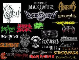 Favorite Metal Bands by for-the-lich-king