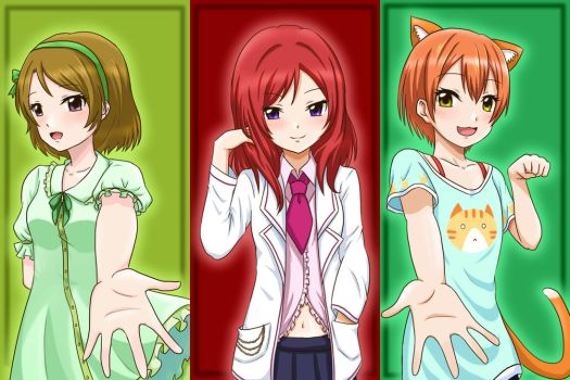 LL - 1st Years by Athyra