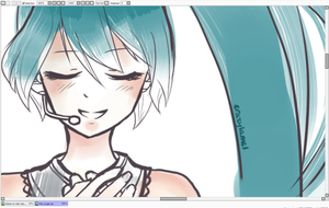 The Angel in Miku PREVIEW by crazylame1