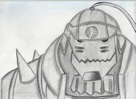 Full metal alchemist, Alphonse Elric by Draculinatje