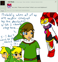 Ask Skyward Link and Wind Link 135 by LinkofSkyWind