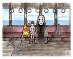 Spirited Away...with Pooh by MyCKs