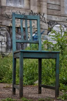 The Green Chair by Octadecagon